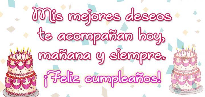 Felicitaciones de cumpleaños 9